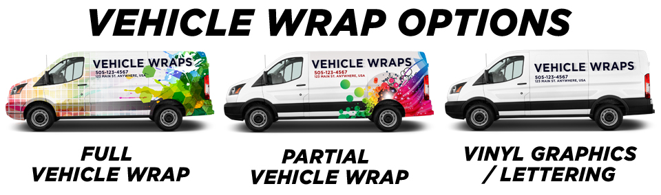 Springfield Vehicle Wraps & Graphics vehicle wrap options