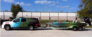 boat and trailer wrap