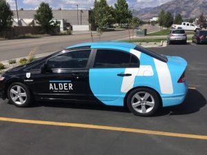 impactful car graphics
