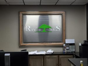 Custom attractive indoor signage
